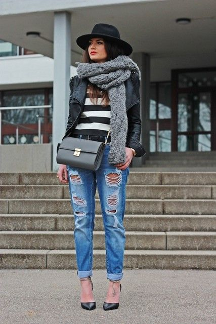 Ideia roupa estilo de rua para o inverno 2015