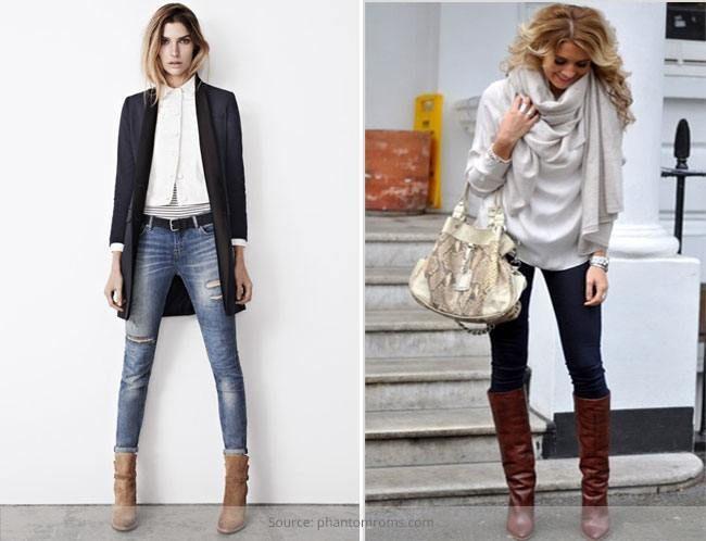 Guia de estilo: o calçado para vestir com o que calças de brim