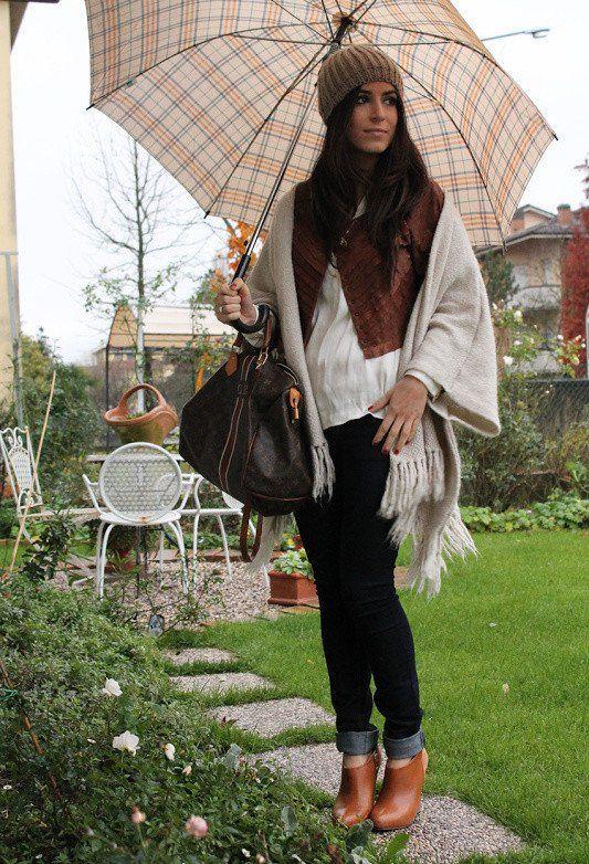 Idéias Outfit caprichoso com um lenço