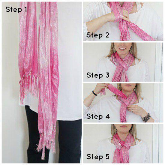 Como amarrar um nó bonito