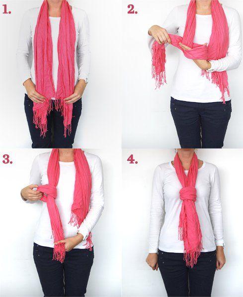 Knot falsificado por um lenço