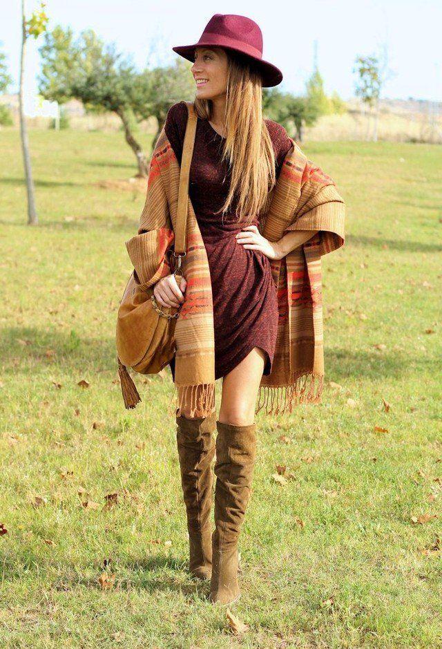 Idea Outfit bonita com um lenço