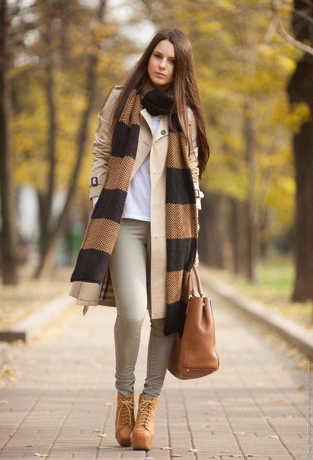 Idea Outfit elegante com um lenço