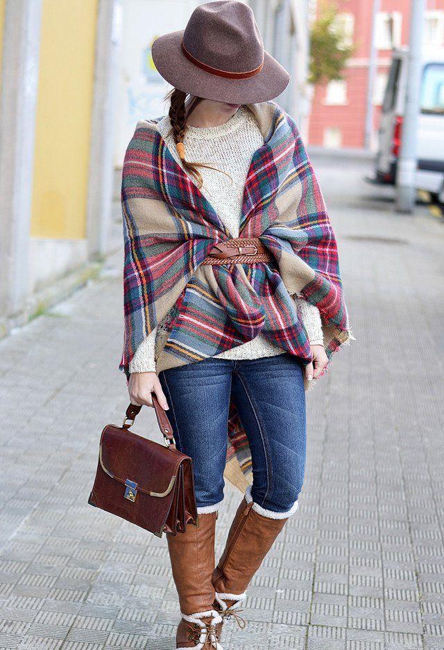 Outfit bonita com um lenço