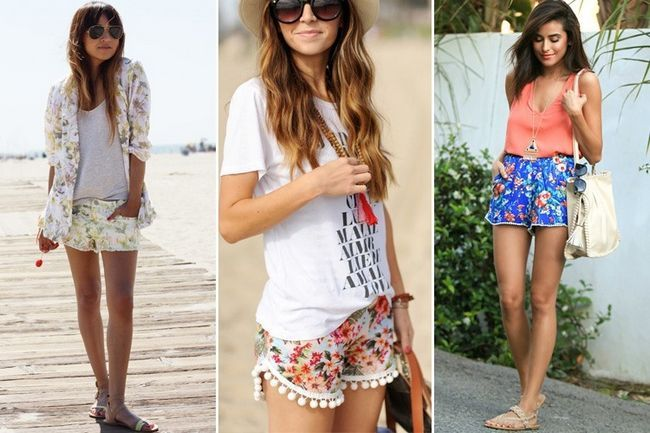 Dicas de estilo sobre o que vestir com shorts florais