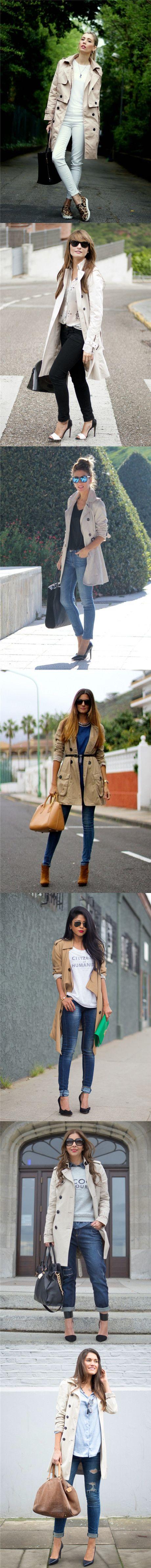 Trench coats à moda para um olhar elegante