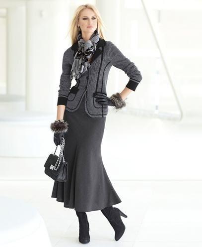 das mulheres usam vestidos de escritório