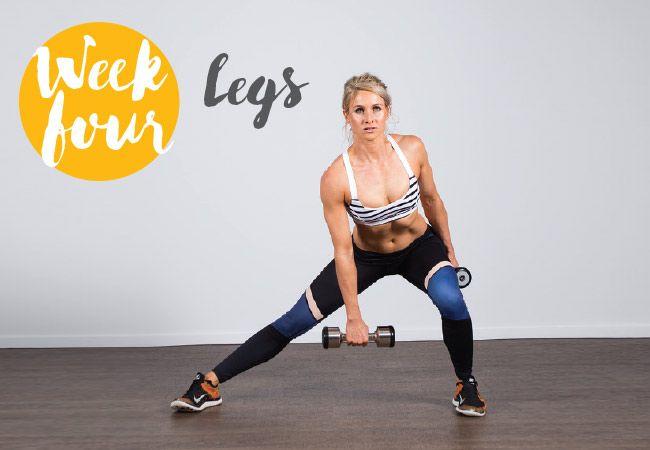 Verão guerreiro corpo desafio - pernas - semana 4