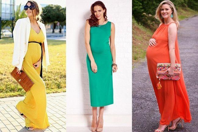 Verão ideias gravidez equipamento: fazendo maternidade moda moderno e elegante