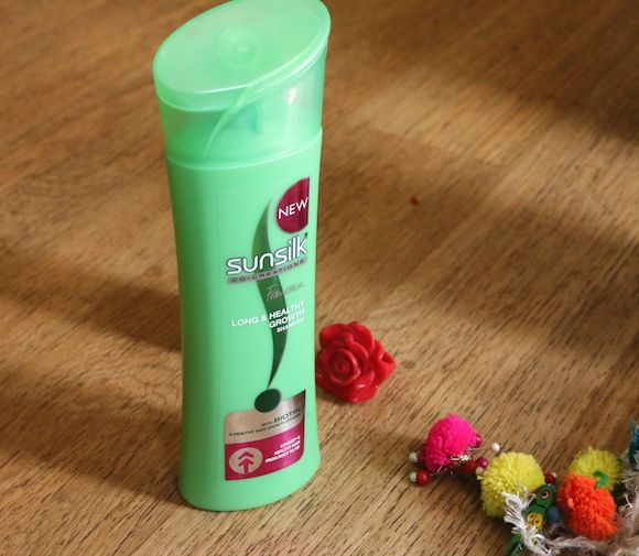 Sunsilk crescimento longa e saudável avaliação shampoo