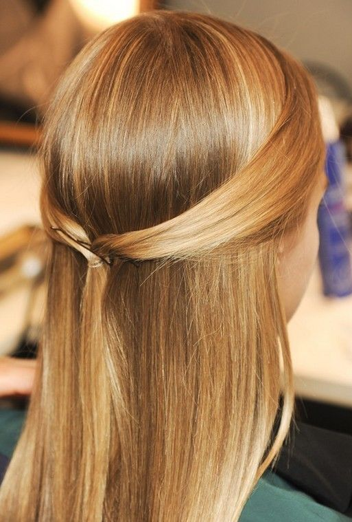 Rabo de cavalo super-reta & updo - melhor penteado para o verão 2013