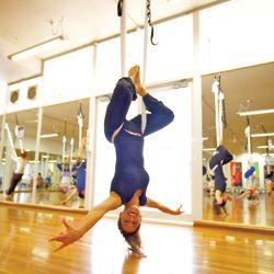 Suspensão yoga