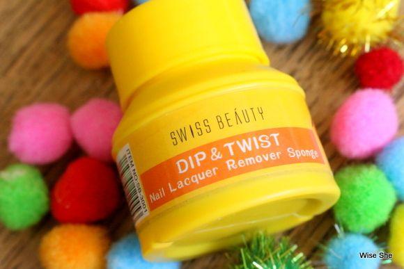 Laca beleza prego swiss remoção avaliação laranja sponge-.