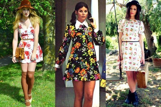 Dê uma olhada como 70 dresses florais trazer de volta a nostalgia dos velhos tempos
