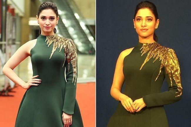 Princessy de tamannah bhatia olha para prêmios cinemaa