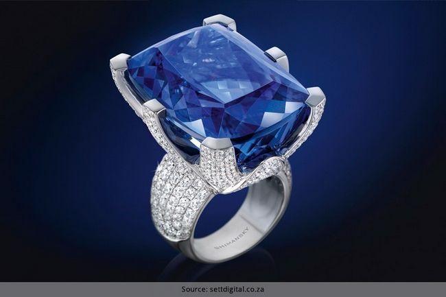 Joalharia tanzanite: a pedra rara e impressionante de magia