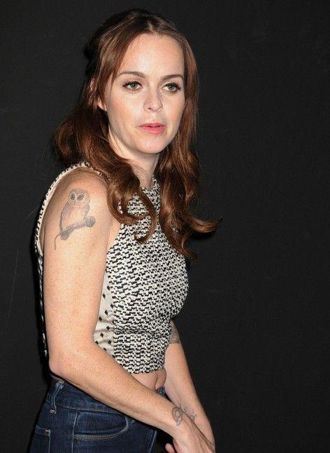 Taryn Manning tatuagem, Pássaro Arm Tattoos