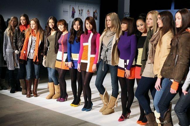 Declaração de moda adolescente para o inverno `13
