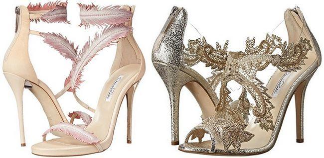 Casamento Nouveau Sapatos Idéias