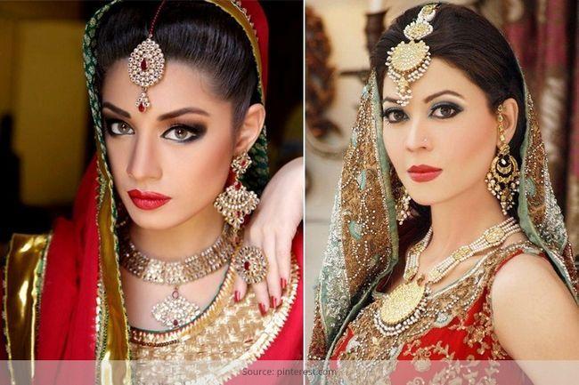 O fascínio de asiático maquiagem de noiva