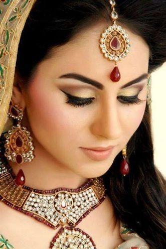 maquiagem de noiva asiática