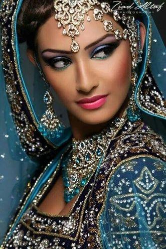 Melhor maquiagem de noiva indiana
