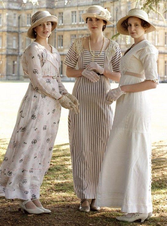 A temporada de downton abbey 3 traje inspiração estilo de moda para as mulheres