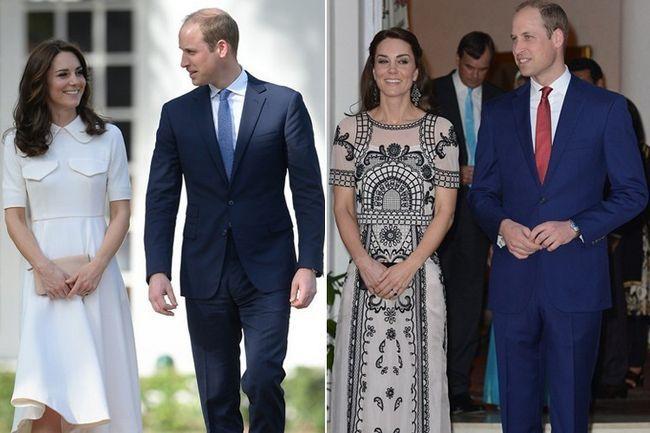 O duque ea duquesa india visita, day2