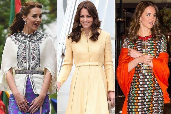 A futura rainha da inglaterra é matando-nos com a sua visita guarda-roupa real
