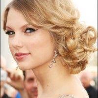Taylor Swift: Chignon Penteado