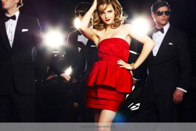 O pouco vestido vermelho: passar lbd, aqui vem a lrd
