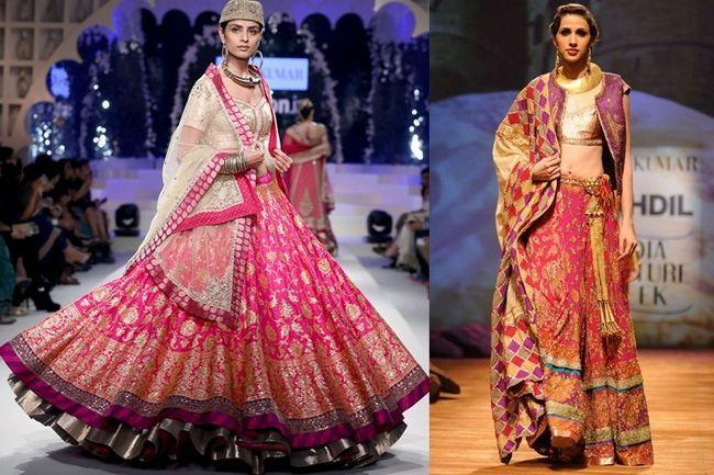 O efeito padmashree: vestindo lehengas noiva por ritu kumar