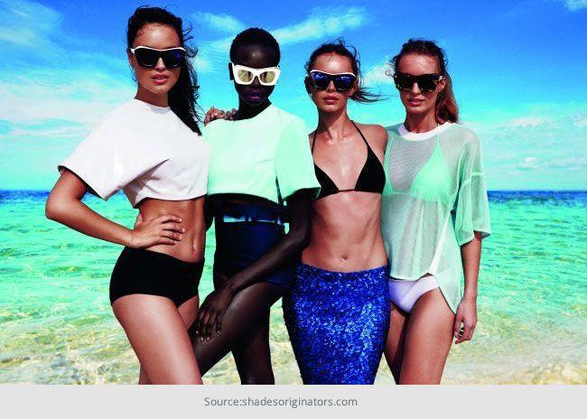 Os óculos de sol ajuste perfeito: os prós e contras das máscaras originadores