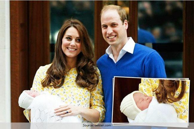 O bebê real finalmente tem um nome! Você não seria capaz acho que