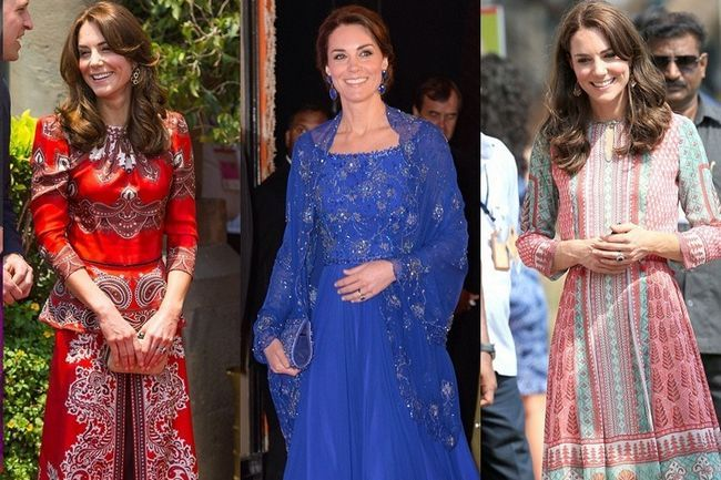 O royal india tour de kate middleton