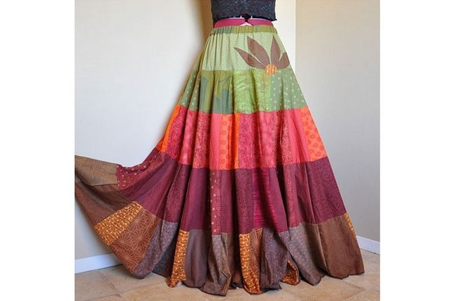 vestidos de saia ciganas