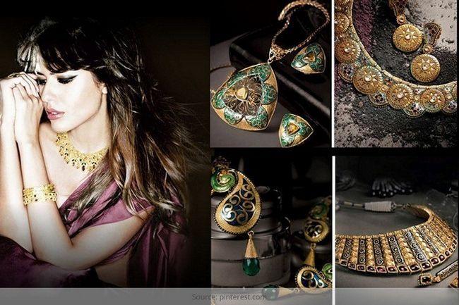 O esplendor da jóia indiana: absorve fashionlady na gloriosa brilho