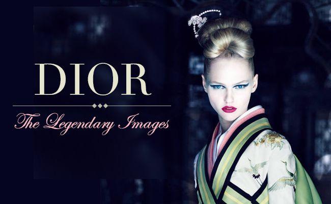 A história por trás das imagens lendárias da dior
