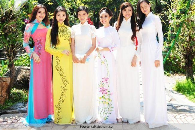 A moda vietnam olha para todas as ocasiões, estações e razões para valorizar