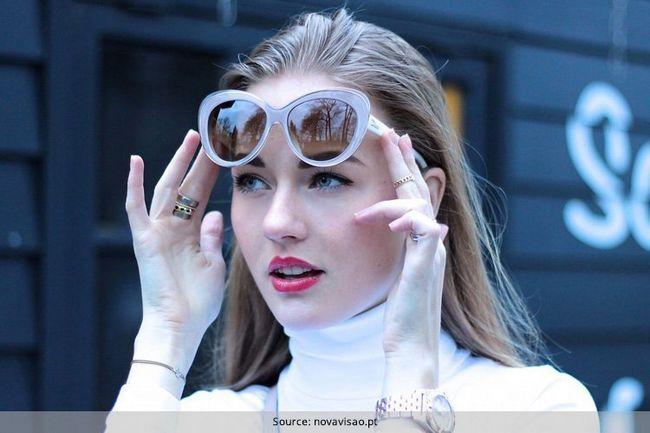 Óculos de sol para o rosto oval