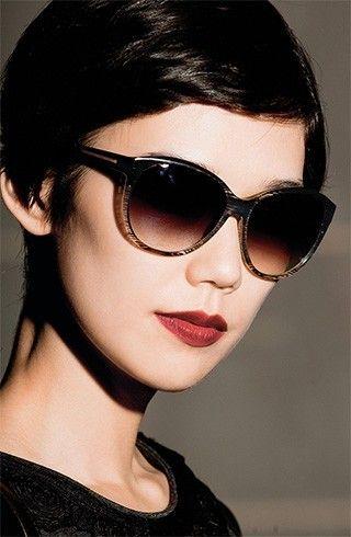 Óculos de sol para Oval rostos femininos