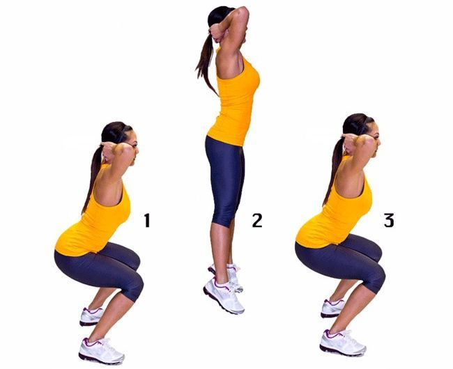 Plyometric Squat Salto