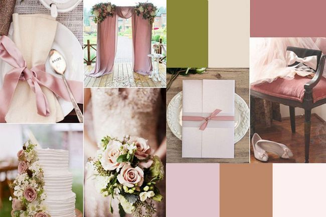 Pense nesses seis combinações de cores neutras casamento lindo para seu casamento