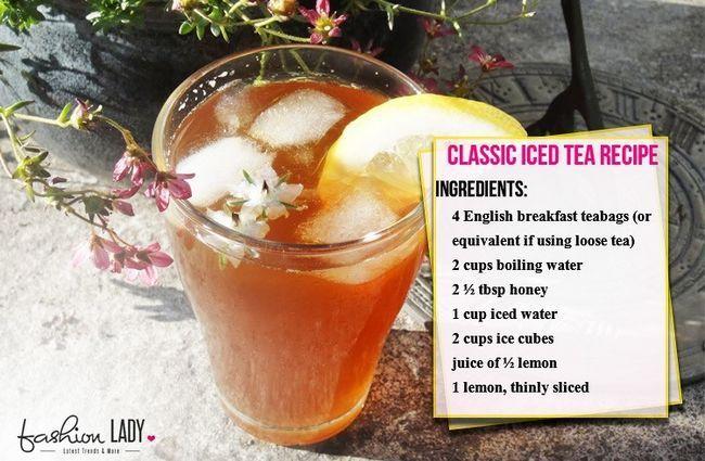 Receita Iced Tea clássico