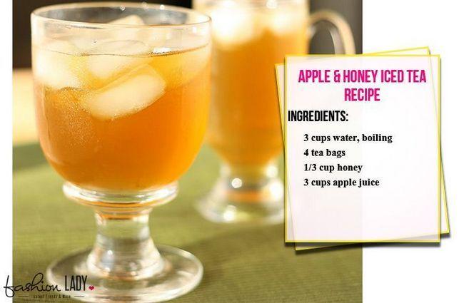 A Apple & Honey Iced Tea Receita