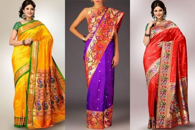 Este diwali usar um sari paithani - o que é um saree paithani você pergunta?