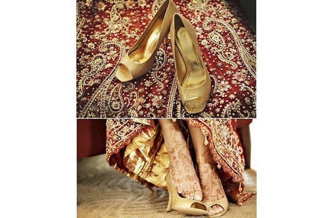 calçado de noiva para o casamento