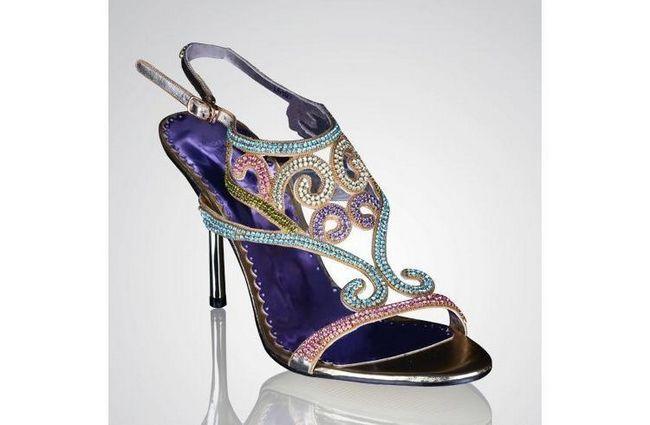 calçado de noiva Designer