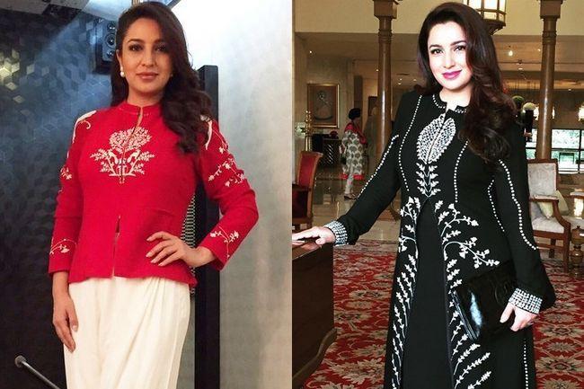 Tisca chopra redefine chique elegante no am: pm roupas
