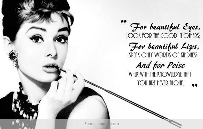 Top 10 inspiradoras celebridade de beleza citações que você deve se lembrar